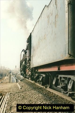 China 1997 November Number 2. (134) Yebaishou yard area. 134