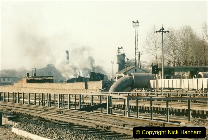 China 1997 November Number 2. (144) Yebaishou yard area. 144