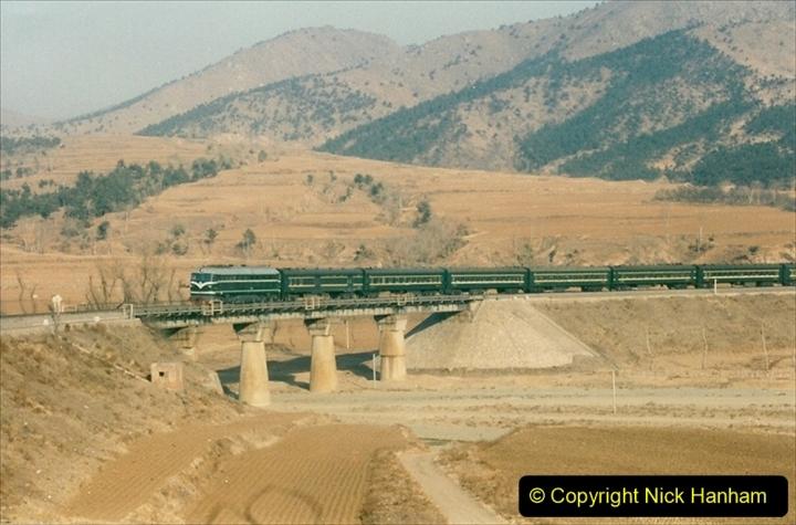 China 1997 November Number 2. (15) Yebaishou area linesiding. 015