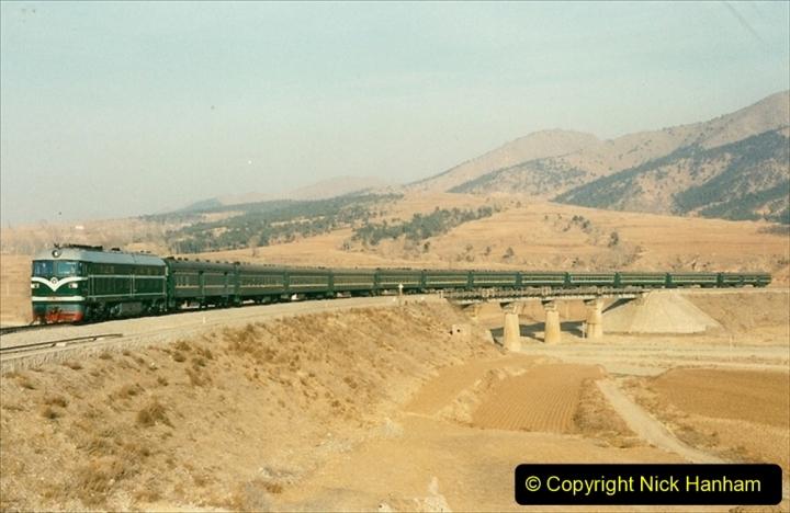 China 1997 November Number 2. (16) Yebaishou area linesiding. 016