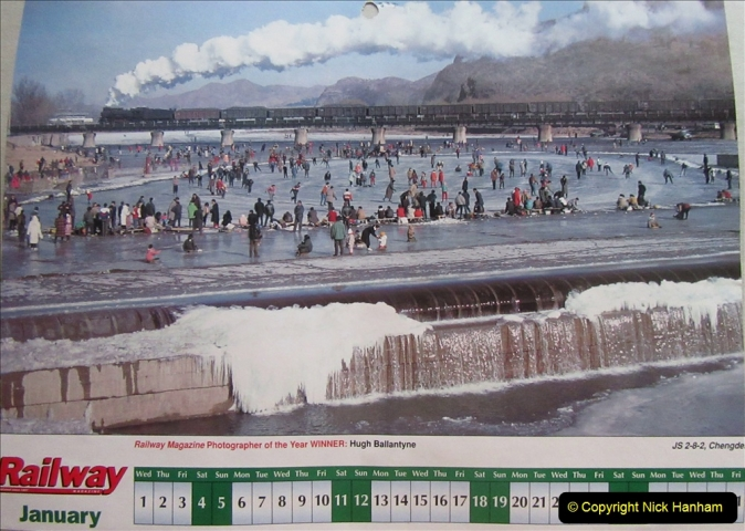 China 1997 November Number 2. (214) A similar shot of picture 213 in the Railway Magazine 1997 Calendar.214