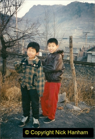China 1997 November Number 2. (216) Chengde town area of the Steeel Works branch. 216