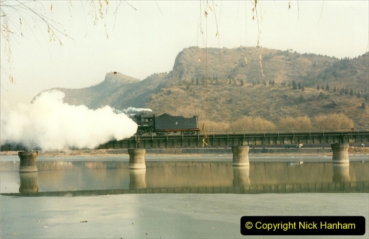 China 1997 November Number 2. (218) Chengde town area of the Steeel Works branch. 218