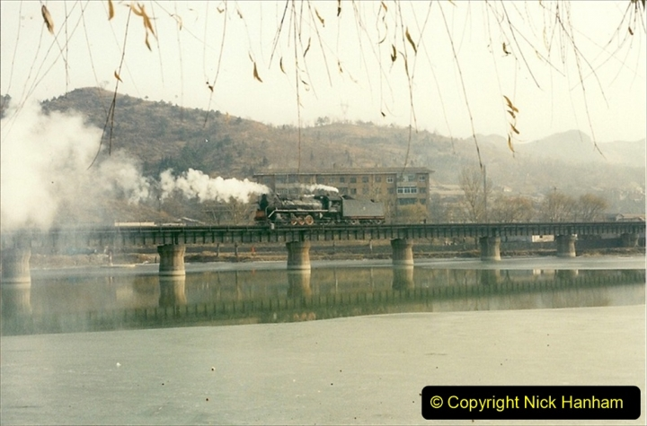 China 1997 November Number 2. (219) Chengde town area of the Steeel Works branch. 219