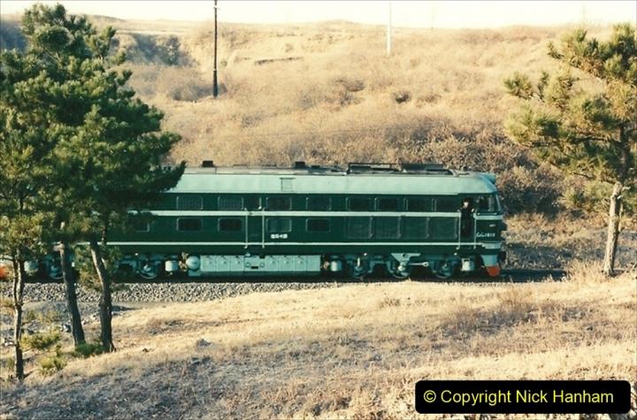 China 1997 November Number 2. (22) Yebaishou area linesiding. 022