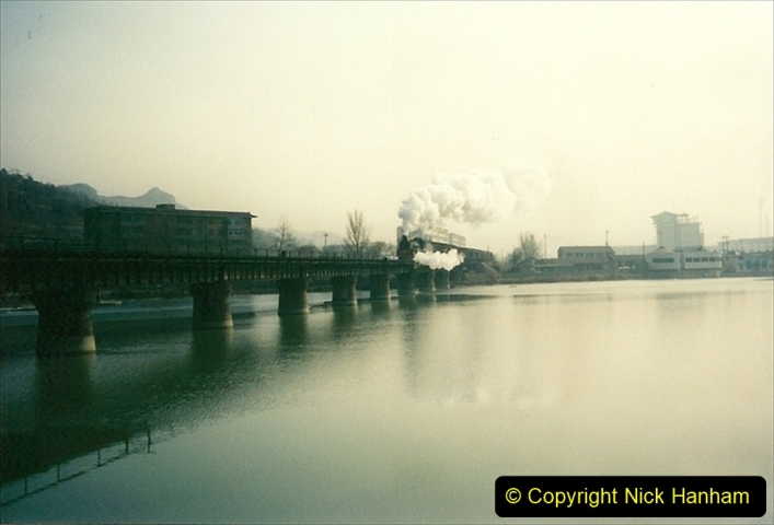 China 1997 November Number 2. (220) Chengde town area of the Steeel Works branch. 220