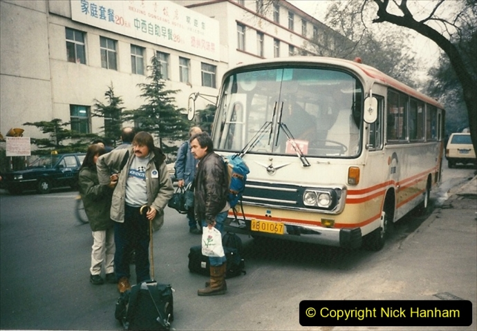 China 1997 November Number 2. (249) Leavin for the airport the next morning.249