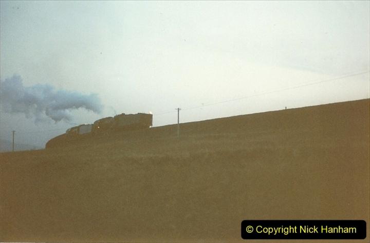 China 1997 November Number 2. (26) Yebaishou area linesiding. Dusk. 026