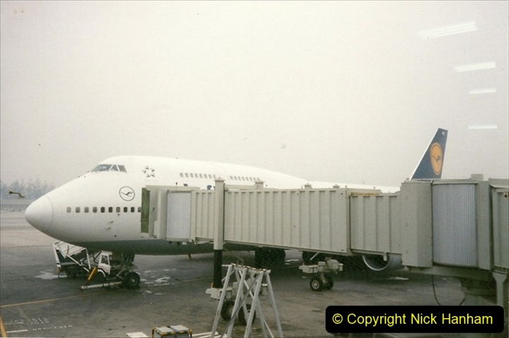 China 1997 November Number 2. (260) Beijing Airport. 260