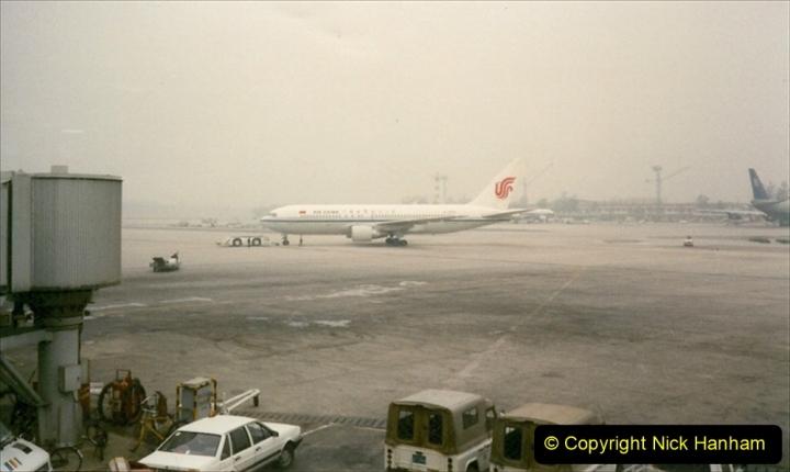 China 1997 November Number 2. (261) Beijing Airport. 261