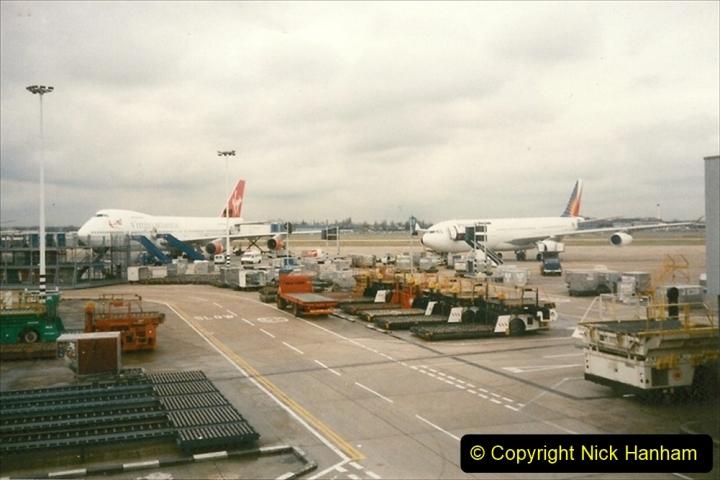 China 1997 November Number 2. (264) Back at London Heathrow. 264
