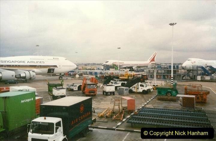 China 1997 November Number 2. (265) Back at London Heathrow. 265
