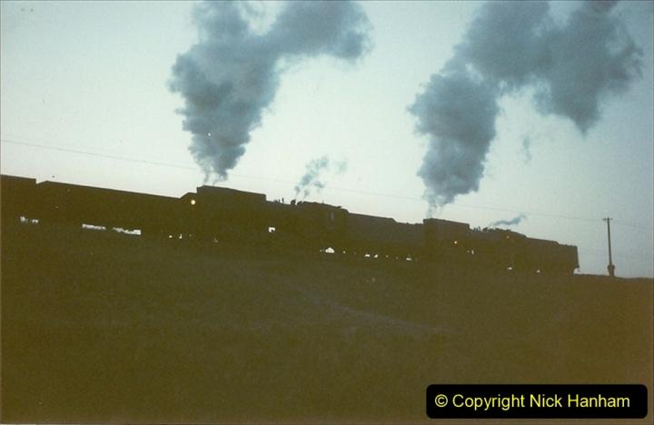 China 1997 November Number 2. (28) Yebaishou area linesiding. Dusk. 028