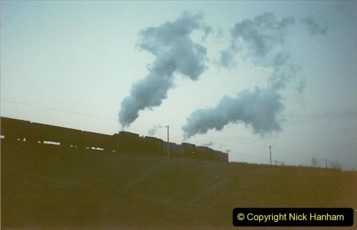 China 1997 November Number 2. (29) Yebaishou area linesiding. Dusk. 029
