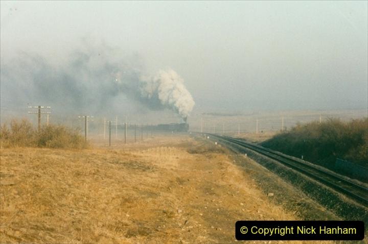China 1997 November Number 2. (30) Yebaishou area linesiding. Dawn the next day. 030