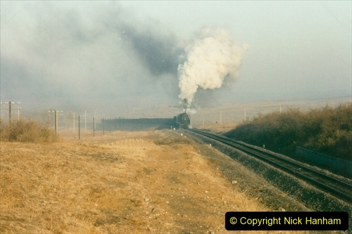 China 1997 November Number 2. (31) Yebaishou area linesiding. Dawn the next day. 031