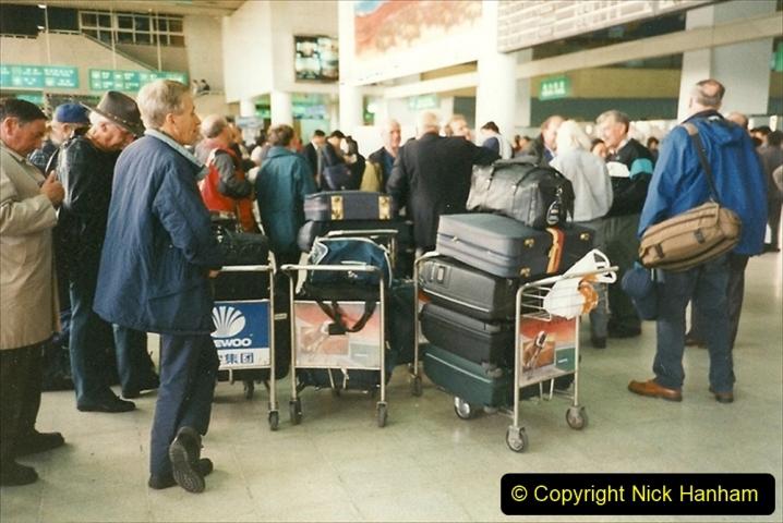 China 1999 October Number 1. (10) Onward flight to Harbin.