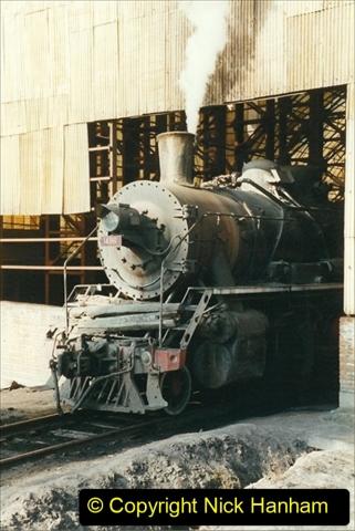China 1999 October Number 1. (118) At Jalainur Opencast Coal Mine.