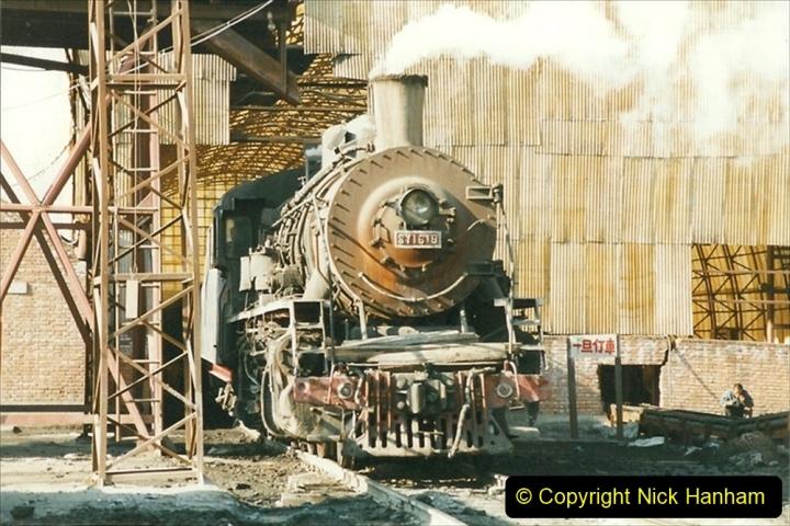 China 1999 October Number 1. (119) At Jalainur Opencast Coal Mine.