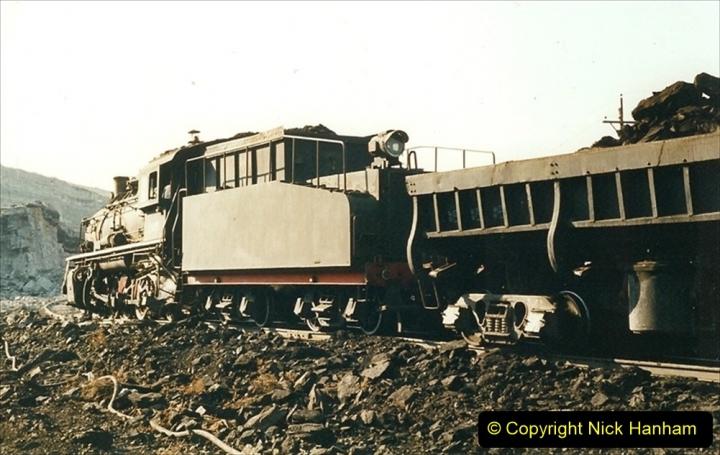 China 1999 October Number 1. (132) At Jalainur Opencast Coal Mine.