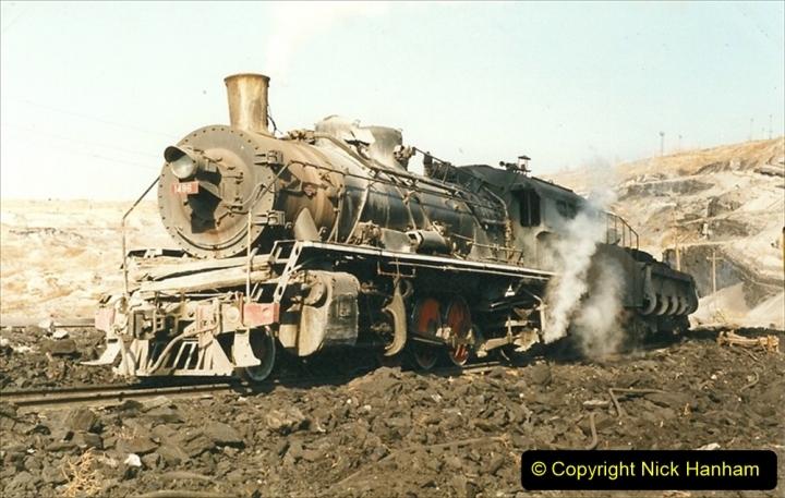 China 1999 October Number 1. (134) At Jalainur Opencast Coal Mine.