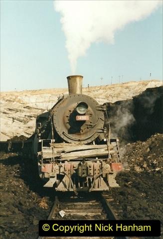 China 1999 October Number 1. (137) At Jalainur Opencast Coal Mine.