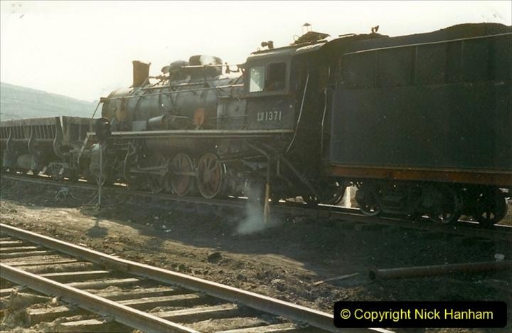 China 1999 October Number 1. (160) At Jalainur Opencast Coal Mine.