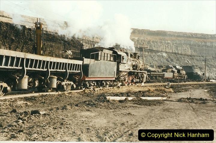 China 1999 October Number 1. (169) At Jalainur Opencast Coal Mine.