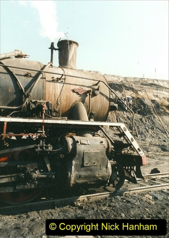 China 1999 October Number 1. (170) At Jalainur Opencast Coal Mine.