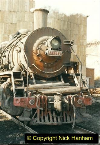 China 1999 October Number 1. (171) At Jalainur Opencast Coal Mine.