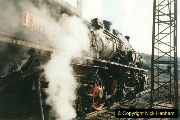 China 1999 October Number 1. (175) At Jalainur Opencast Coal Mine.
