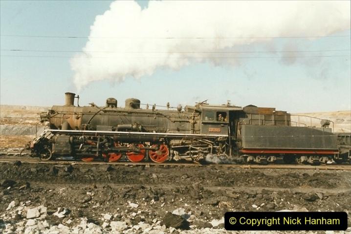 China 1999 October Number 1. (179) At Jalainur Opencast Coal Mine.