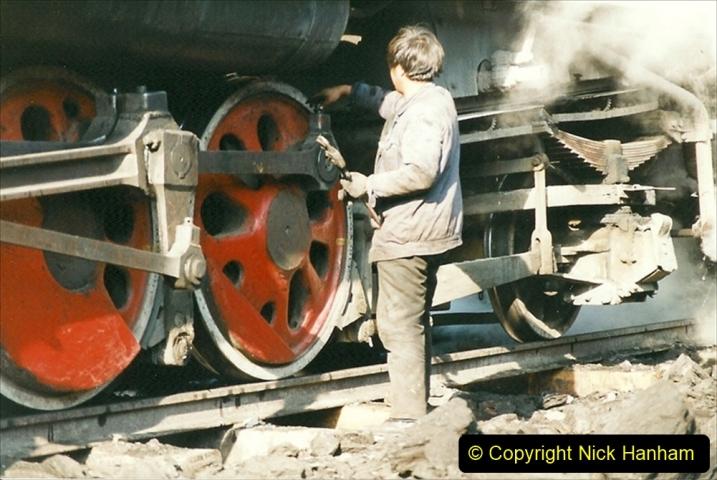 China 1999 October Number 1. (189) At Jalainur Opencast Coal Mine.