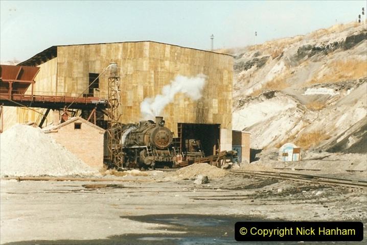 China 1999 October Number 1. (190) At Jalainur Opencast Coal Mine.