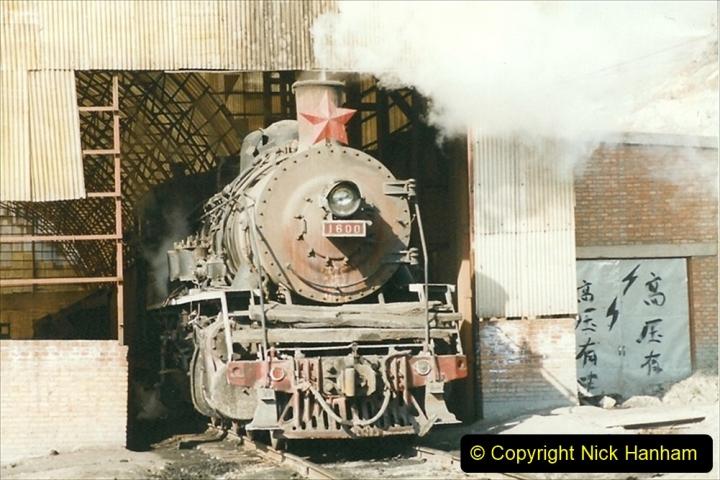 China 1999 October Number 1. (191) At Jalainur Opencast Coal Mine.