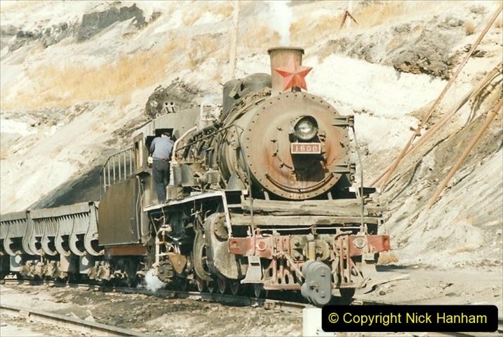 China 1999 October Number 1. (198) At Jalainur Opencast Coal Mine.