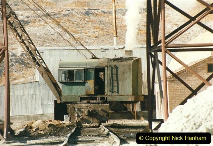 China 1999 October Number 1. (201) At Jalainur Opencast Coal Mine.
