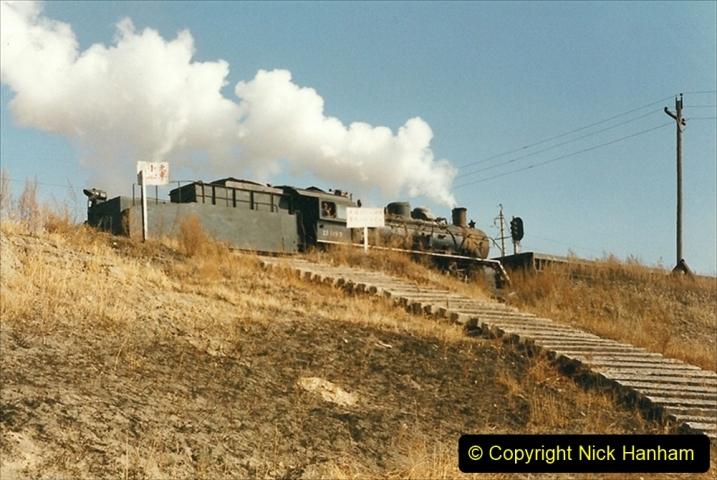 China 1999 October Number 1. (206) At Jalainur Opencast Coal Mine.