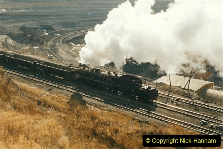 China 1999 October Number 1. (207) At Jalainur Opencast Coal Mine.