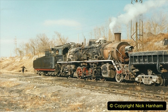 China 1999 October Number 1. (208) At Jalainur Opencast Coal Mine.