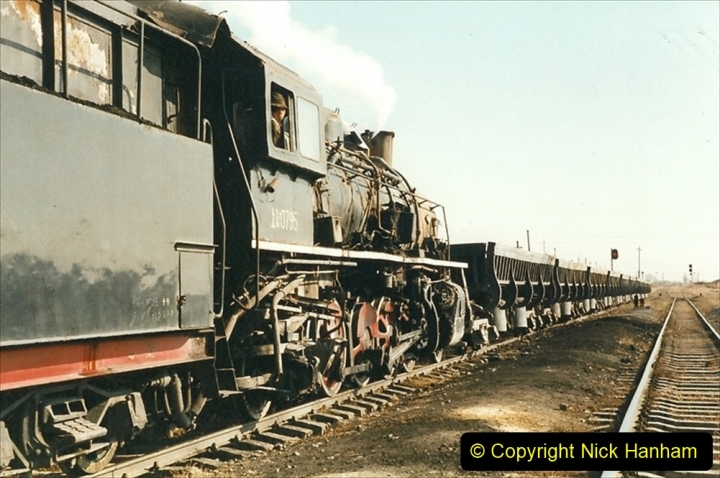 China 1999 October Number 1. (209) At Jalainur Opencast Coal Mine.