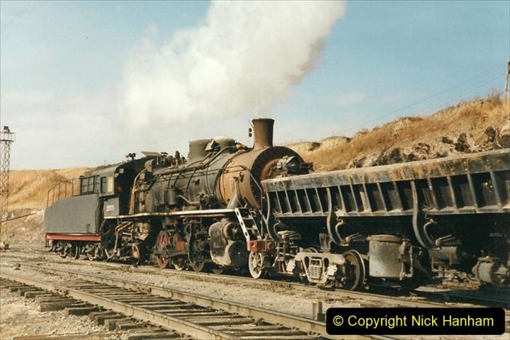 China 1999 October Number 1. (210) At Jalainur Opencast Coal Mine.