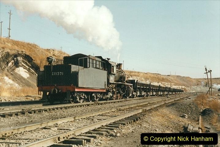 China 1999 October Number 1. (211) At Jalainur Opencast Coal Mine.