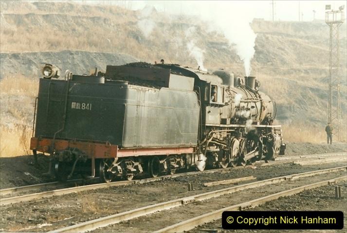 China 1999 October Number 1. (212) At Jalainur Opencast Coal Mine.