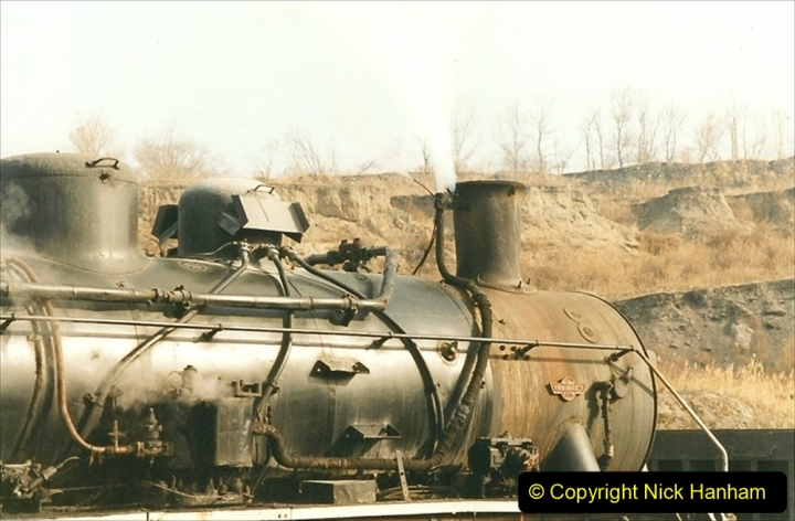 China 1999 October Number 1. (214) At Jalainur Opencast Coal Mine.