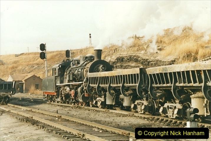China 1999 October Number 1. (224) At Jalainur Opencast Coal Mine.