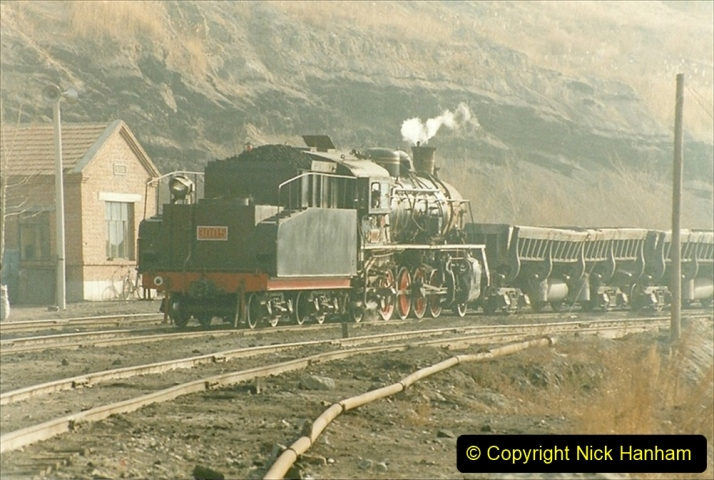 China 1999 October Number 1. (228) At Jalainur Opencast Coal Mine.