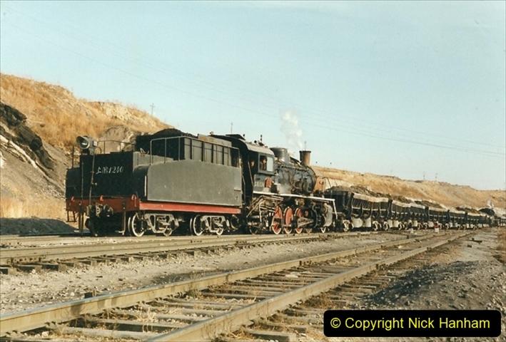 China 1999 October Number 1. (229) At Jalainur Opencast Coal Mine.