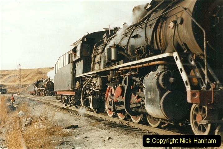 China 1999 October Number 1. (232) At Jalainur Opencast Coal Mine.