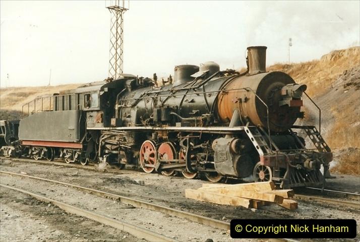 China 1999 October Number 1. (234) At Jalainur Opencast Coal Mine.
